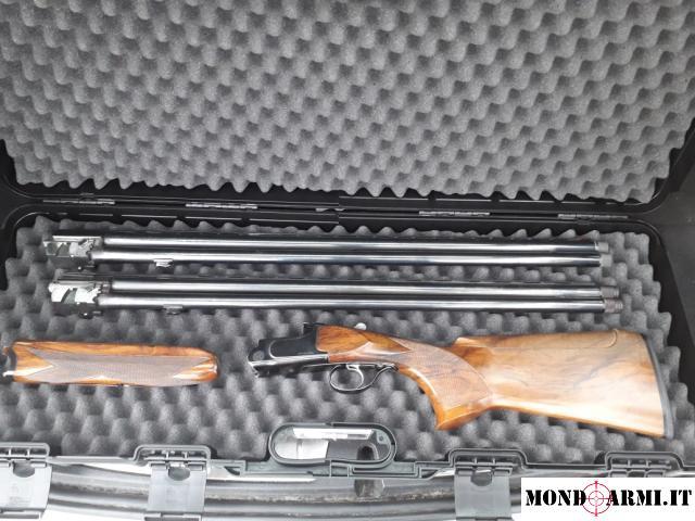 Fucile da Tiro Gamba F.lli Armi SL88 due set Canne