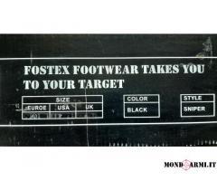 VENDO Anfibi FOSTEX nuovi mai usati Tipo Sniper