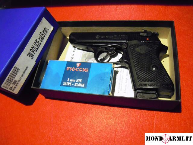 pistola semiautomatica a salve Bruni cal.8