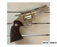 "Colt DIAMONDBACK 4"" nichel 38 special"