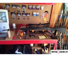 Carabina Vanguard 300 weatherby Magnum completa di Ottica Bipede e scatola da 20 colpi nuova