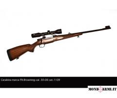 Vendesi carabina Browning FN