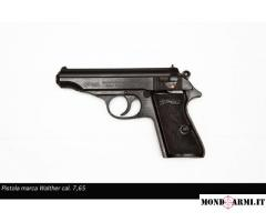 Vendesi pistola Walther PP