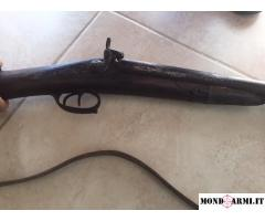 Vendo fucile doppietta avancarica del 1800