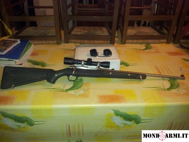 vendo carabina ruger LR 77/22 ALL WEATHER