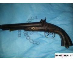 Pistola a due canne ad avancarica a luminello