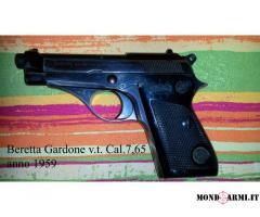 Vendo Beretta Gardone v.t. Cal.7,65 anno 1959