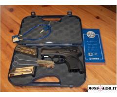 Pistola Beretta mod 9000s cal 9x21 come nuova.