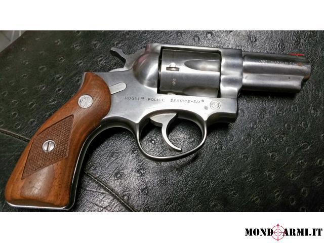357 Magnum Mod. Police Service six inox