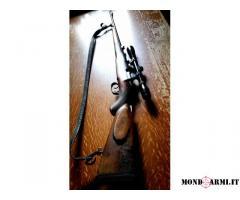 Vendo fucile MAUSER canna rigata Calibro 6,5x57 completo di Cannocchiale da 6 ingrandimenti