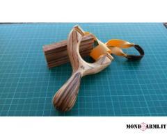 fionda artigianale da caccia