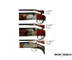 Privato cacciatore vende fucili vari
