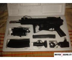 Fucile Softair Elettrico Full Metal PDW + REGALO