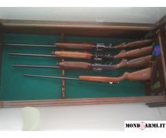 4 fucili caccia