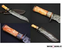 Coltello da caccia Damasco - Hunting Knife