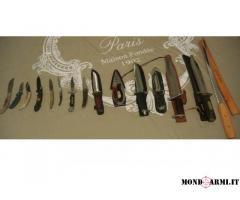 Vendo collezione di coltelli