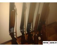 vendo 6 fucili varie marche e cal.(beretta-breda)