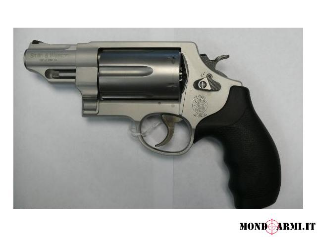 Revolver smith & wesson governor silver