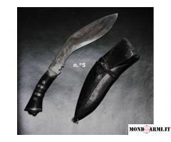 Antico coltello nepalese Khukuri - metà XIX sec.
