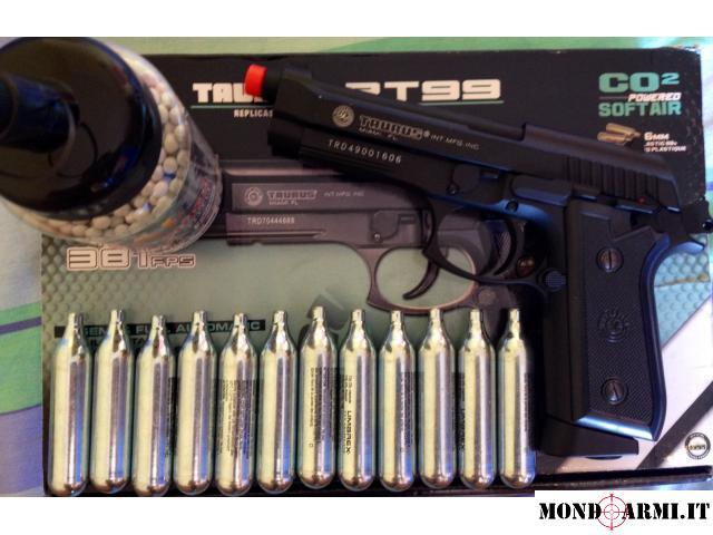 Pistola Co2 Powered Scarrellante