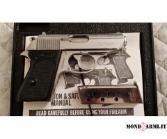 Walther PPK inox cal. .380ACP