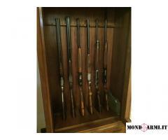 Lotto di 3 di fucili semiautomatici calibro 12 da caccia + 1 doppietta