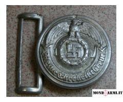 Vendo fibbia tedesca ufficiale ss, RZM 36/38SS olc