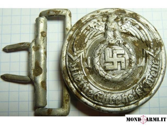 Vendo fibbia tedesca ufficiale ss, RZM 36/39SS olc