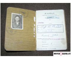Vendo Soldbuch tedesco SS Divion Norge