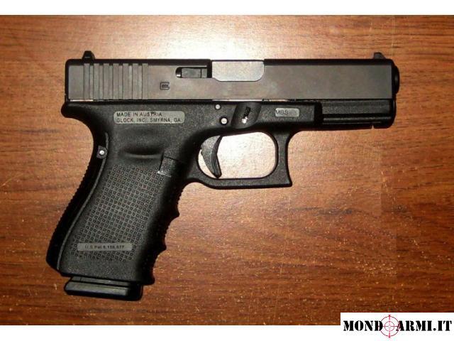 Glock Glock 19 Cal9x21 Terza Generazione Pistole Mondoarmiit