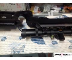carabina mauser cal.308 ottica millett 6-25x56 PERFETTA!