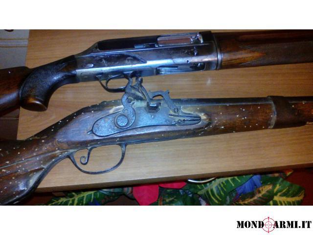 vendo coppia di fucili causa inutilizzo