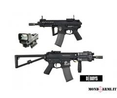 D-Boys KAC PDW Full Metal + accessori NUOVO
