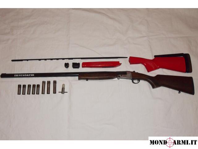 Vendo monocanna cal 12 investarm MC4 per caccia e tiro a volo