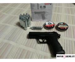 Vendo pistola Co2 nuovo mod. Gamo c15