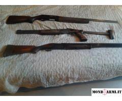 n. 3 fucili a 500 euro complessivi
