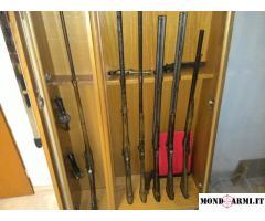Set 10 Armi d'Epoca, 12 pezzi, più mobile/vetrina