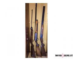 3 fucili al prezzo speciale di € 300,00 (tutti e 3)