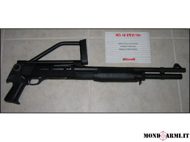 Benelli M3 Super 90 Tactical Magnum Semiautomatico  Pompa Nuovo Cal. 12