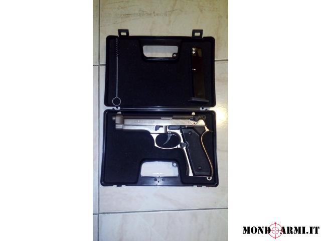 Vendo pistola a salve Bruni mod.92 CROMATA