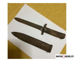antica baionetta periodo prima guerra mondiale