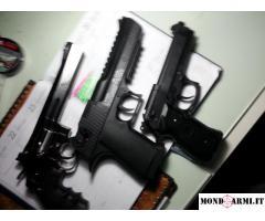 Vendo 3 magnifiche pistole calibro 1,77 /4,5 CO2 libera vendita