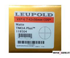 CANNOCCHIALE LEUPOLD VX-6 7-42X56mm CDS