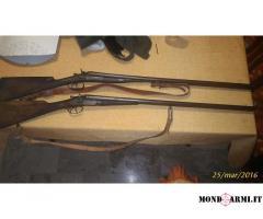 2 Fucili da caccia