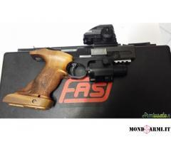 Vendo o cambio con pistola di mio piacimento, questa stupenda Domino fas sp602 calibro 22lr
