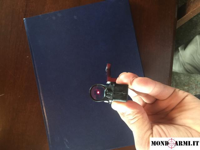 Vendo ottica c-more e staffa laterale xray