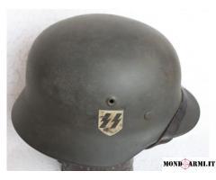 Vendo elmetto M40 Waffen SS origine