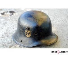 Vendo elmetto m18 Waffen SS origine