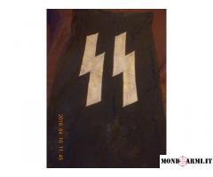 Bandiera di guerra della Germania nazista SS, originale