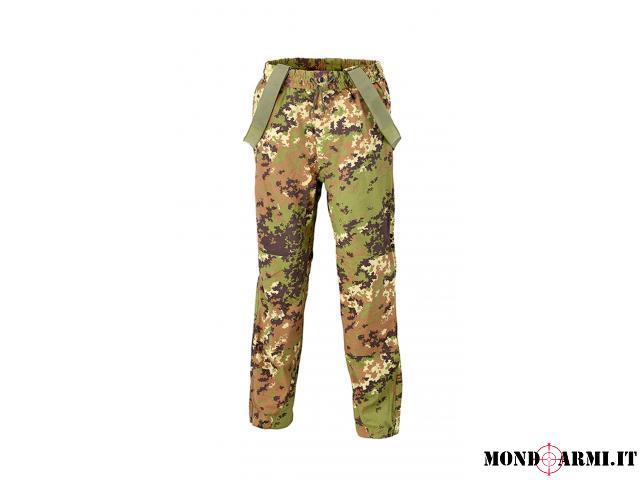 pantalone esercito italiano vegetato in goretex - taglia 52 nuovo